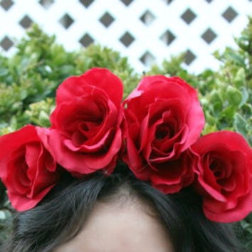 Rose Flower Crown