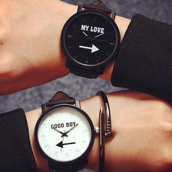 Lover Leather Watch +Gift Box-05