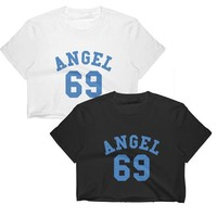 Angel 69 Crop Top