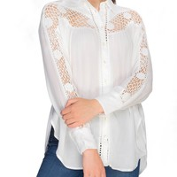 Katie Bird Crochet Shirt