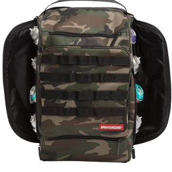 Graffiti Utility Camo Hawk Backpack (SPRAYGROUND)