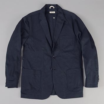 Tailored Jacket, Fine Chino Twill, Navy
