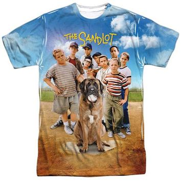 Mens The Sandlot Poster Vibrant Sublimation Front/Back T-Shirt