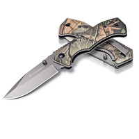 Kilimanjaro Victus 7 Inch Drop Point Hunting Knife in Camo