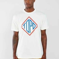 Topo Designs Diamond Tee- Natural