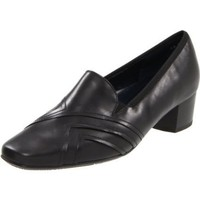 ara Women`s Racquel Slip-On,Black Leather,5.5 M US