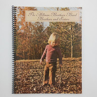 "THE ALLMAN BROTHERS Notebook - ""Brothers And Sisters"" Record Cover"