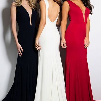 Sleeveless Jersey Dresses 22884