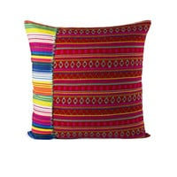 Mamacita Stripe Pillow