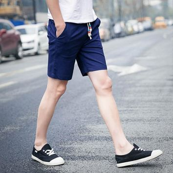 mens summer casual short brand clothing beach shorts plus size m-4xl 2017 Y26