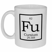 Element Fu - Cursium Fake Periodic Table Chemistry Elements