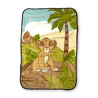Disney Baby Infant's Lion King Plush Blanket