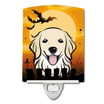 Halloween Golden Retriever Ceramic Night Light BB1763CNL