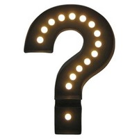 Room Essentials® Marquee Question Mark - Large