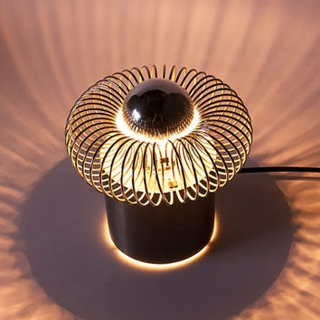 Modernist Dutch Disk Wall Light Lamp - 70s