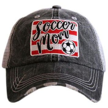Soccer Mom - HAT - Ruffles with Love - RWL