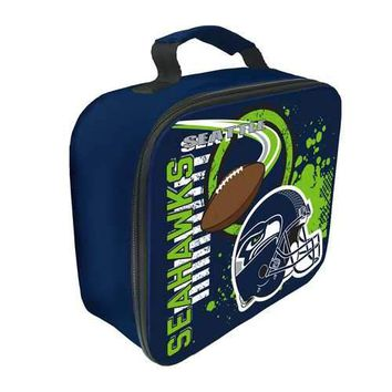 """Seattle Seahawks NFL Accelerator"""" Lunch Cooler (Navy)"""""""
