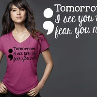 Semicolon T-shirt | Suicide Prevention T-shirt