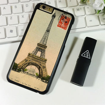 Paris Eiffel Tower Postcard iPhone 6 Plus | 6S Plus Case Planetscase.com