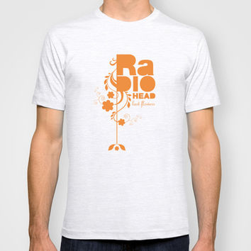 "Radiohead ""Last flowers"" Song / Orange version T-shirt by LilaVert"
