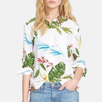 Women's Equipment 'Reese' Floral Print Silk Blouse,