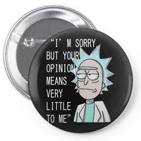 rick opinion Pin-back button