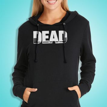 Deadlift Gym Workout Lift Train Fitness Powerlifting Women'S Hoodie
