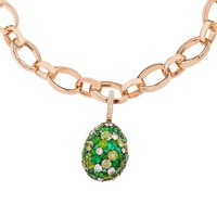 Emotion Green Charm | Egg Charms | FABERGÉ.com