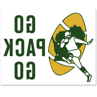 Green Bay Packers Retro Reverse Stick Multi-Use Decal at the Packers Pro Shop