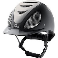 GPA® Speed Air Evolution Helmet with Silver | Dover Saddlery