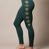 Chakra Leggings - XL Only