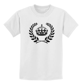 Crown and Laurel Childrens T-Shirt