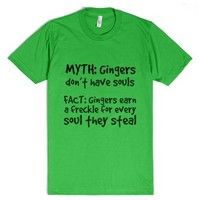 Ginger-Unisex Grass T-Shirt