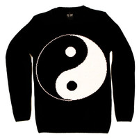 Yin Yang Knit Sweatshirt | KILLSTAR