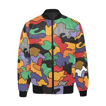 Fresh Prince - Quilted Bomber Jacket