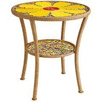 Outdoor Daisy Side Table