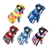Ski Accessories Snow Snowboard Snowmobile Motorcycle Kids Gloves Windproof Waterproof Degree Children Winter Warm Polyester