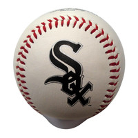 Blank Leather MLB Team Logo Baseballs - Chicago White Sox