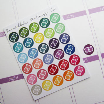 30 Money Die-Cut Stickers // (Perfect for Erin Condren Life Planners)