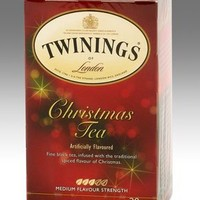 Twinings Black Tea, Christmas, 1.41 Ounce, 20 Count