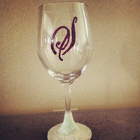 Costom Bride Wine Glass