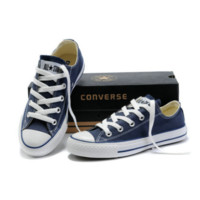 "Blue ""Converse"" Fashion Canvas Flats Sneakers Sport Shoes"