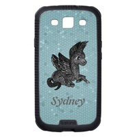 Samsung Case Dark pegasus illustration Samsung Galaxy SIII Covers from Zazzle.com