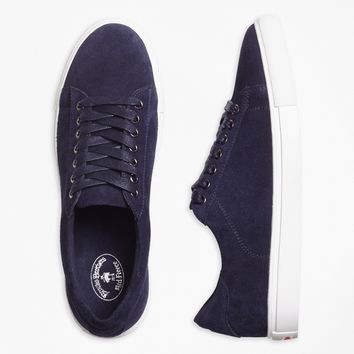 Suede Slip-On Sneakers - Brooks Brothers