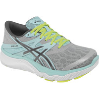 Asics 33-M Running Shoe - Women's Grey/Charcoal/Mint,