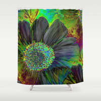 Wonderment of Flora Shower Curtain by  RokinRonda