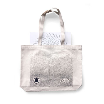 Astro + Ghostly Record Tote