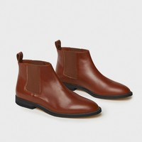 Chelsea Boot - Saddle
