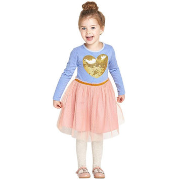 Kids Girl Dress Clothes Christmas Costume Girl Party Birthday Tutu Dresses Children Clothing SM6