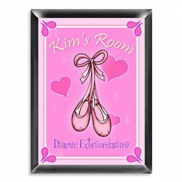 Personalized Room Sign - Ballet